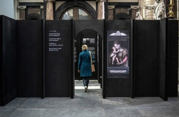 Expo over restauratie in Sint-Jacobskerk